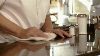 Endo Pharmaceuticals TV Spot, 'Dupuytren's Contracture: Diner' - Thumbnail 8
