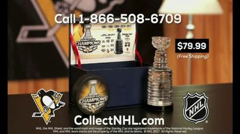 CollectNHL.com TV Spot, '2017 Stanley Cup: Pittsburgh Penguins Collectible' - Thumbnail 5