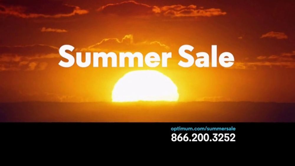 Optimum Summer Sale  TV Commercial, 'Best Internet Deal Ever'