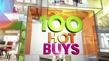 Rooms to Go TV Spot, '100 Hot Buys' - 10 commercial airings