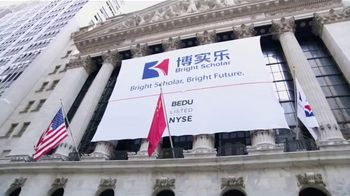 New York Stock Exchange TV Spot, 'Bright Scholar' - Thumbnail 1