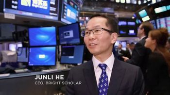 New York Stock Exchange TV Spot, 'Bright Scholar' - Thumbnail 2