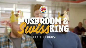Burger King Mushroom & Swiss King TV Spot, 'Flying' - Thumbnail 1