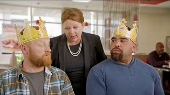 Burger King Mushroom & Swiss King TV Spot, 'Flying' - Thumbnail 3