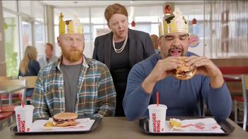 Burger King Mushroom & Swiss King TV Spot, 'Flying' - Thumbnail 4