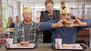 Burger King Mushroom & Swiss King TV Spot, 'Flying' - Thumbnail 6