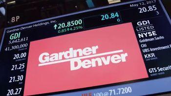 New York Stock Exchange TV Spot, 'Gardner Denver' - Thumbnail 7