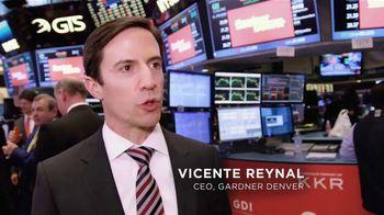 New York Stock Exchange TV Spot, 'Gardner Denver'