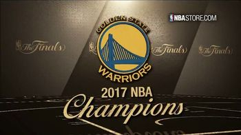 NBA Store TV Spot, '2017 Championship Collection' - Thumbnail 3
