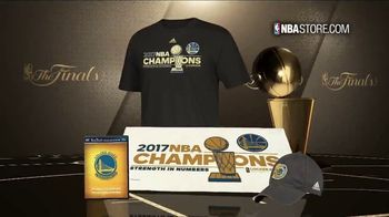 NBA Store TV Spot, '2017 Championship Collection' - 388 commercial airings