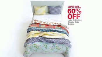 Macy's One Day Sale TV Spot, 'Dining, Bed, Bath and Luggage' - Thumbnail 4