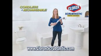 Clorox Scrubtastic Power Scrubber TV Spot, 'Back Breaking Scrub' - Thumbnail 3