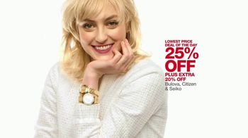 Macy's One Day Sale TV Spot, 'Jewelry, Impulse and Watches' - Thumbnail 8