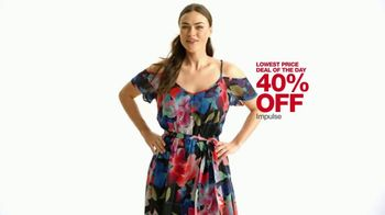 Macy's One Day Sale TV Spot, 'Jewelry, Impulse and Watches' - Thumbnail 5