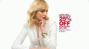 Macy's One Day Sale TV Spot, 'Jewelry, Impulse and Watches' - Thumbnail 6