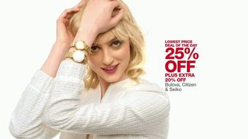 Macy's One Day Sale TV Spot, 'Jewelry, Impulse and Watches' - Thumbnail 7