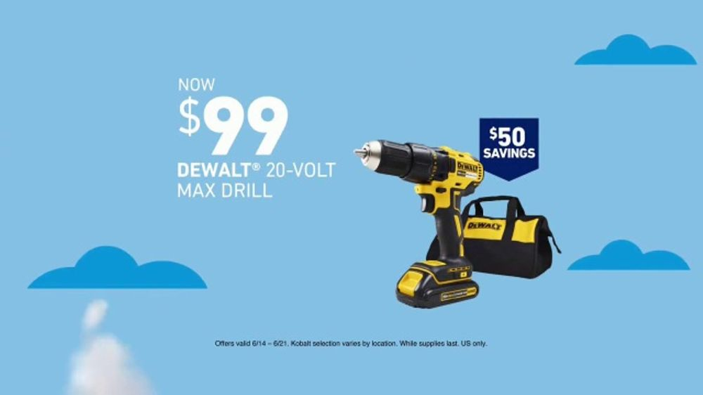 Lowe's Deals for Dad Event TV Commercial, 'Drill & Tool Sets'