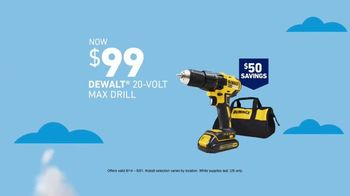 Lowe's Deals for Dad Event TV Spot, 'Drill & Tool Sets' - Thumbnail 4