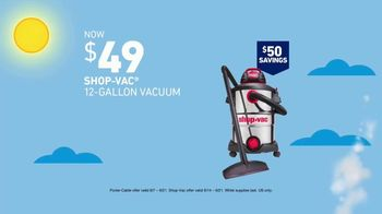 Lowe's Deals for Dad Event TV Spot, 'Combo Kit & Vacuum' - Thumbnail 5
