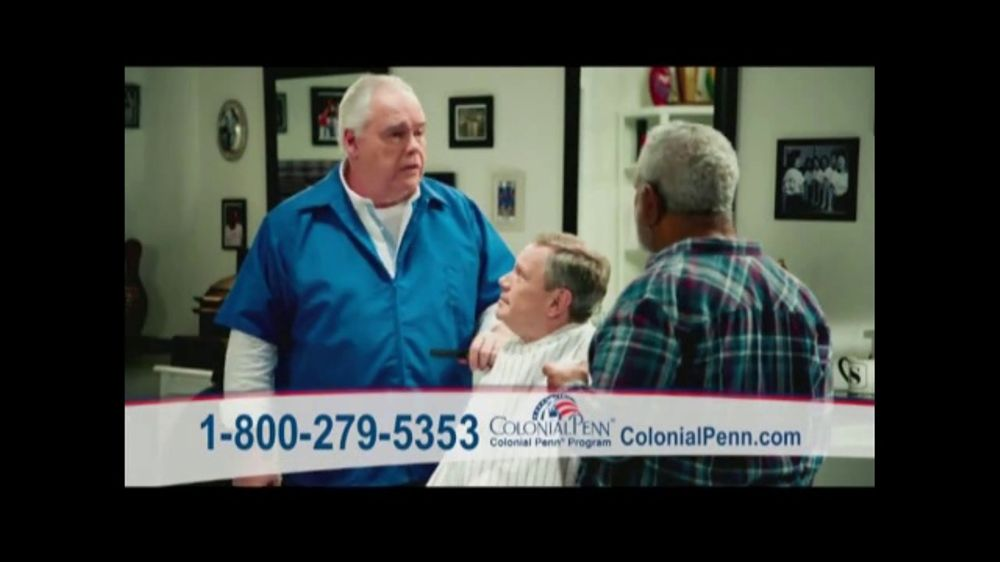 Colonial Penn Whole Life Insurance TV Commercial 'Barber' Featuring Cool Colonial Penn Life Insurance Quote