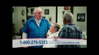 Colonial Penn Whole Life Insurance TV Spot, 'Barber' Featuring Alex Trebek - 258 commercial airings