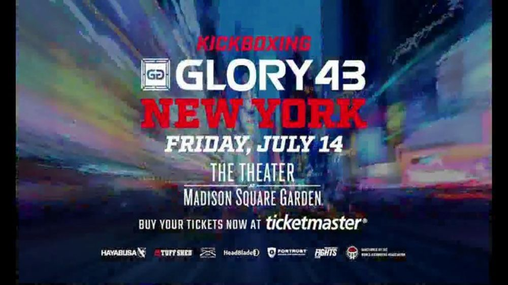 Glory Kickboxing TV Commercial, U0027Glory 43: Madison Square Gardenu0027   ISpot.tv