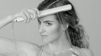 Clamp.It Ceramic Styling Brush TV Spot, 'Easier Way to Straighten Hair' - Thumbnail 4