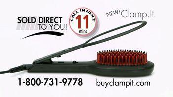 Clamp.It Ceramic Styling Brush TV Spot, 'Easier Way to Straighten Hair' - Thumbnail 7