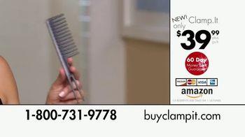 Clamp.It Ceramic Styling Brush TV Spot, 'Easier Way to Straighten Hair' - Thumbnail 9