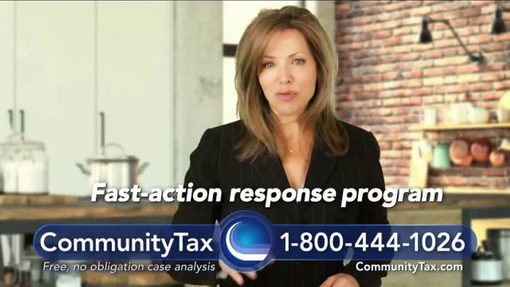 Community Tax TV Commercial, 'The IRS Is More Aggressive Than Ever'