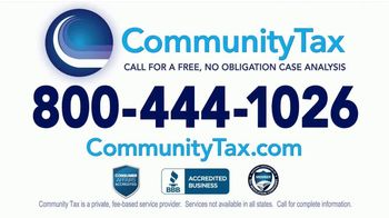 Community Tax TV Spot, 'The IRS Is More Aggressive Than Ever' - Thumbnail 4