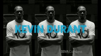 BBVA Compass TV Spot, 'NBA Finals MVP' Featuring Kevin Durant - 2 commercial airings
