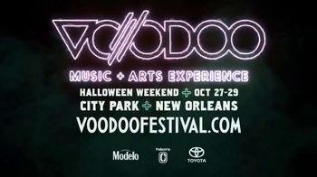 2018 Voodoo Festival TV Spot, 'Voodoo Music + Arts Experience'