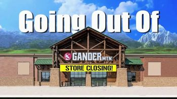 Gander Mountain Going Out of Business Liquidation TV Spot, 'Everything' - Thumbnail 2