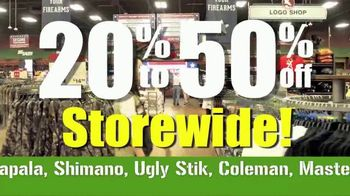 Gander Mountain Going Out of Business Liquidation TV Spot, 'Everything'