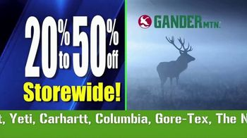 Gander Mountain Going Out of Business Liquidation TV Spot, 'Everything' - Thumbnail 6