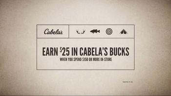 Cabela's Father's Day Sale TV Spot, 'Cabela's Bucks' - Thumbnail 4