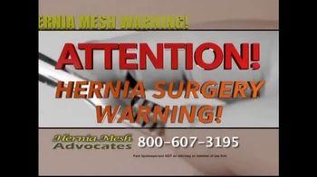 Hernia Mesh Advocates TV Spot, 'Health Complications' - Thumbnail 2