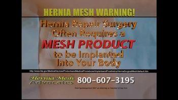 Hernia Mesh Advocates TV Spot, 'Health Complications' - Thumbnail 5