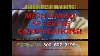 Hernia Mesh Advocates TV Spot, 'Health Complications' - Thumbnail 6
