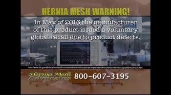 Hernia Mesh Advocates TV Spot, 'Health Complications' - Thumbnail 7