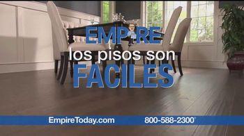 Empire Today Venta Compre Uno Reciba Dos Gratis TV Spot, 'Pisos' [Spanish]