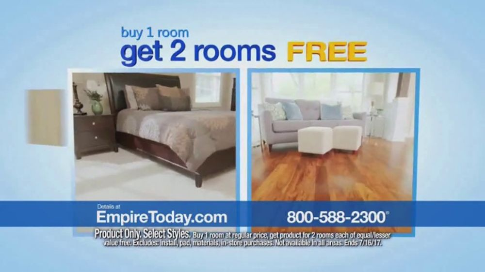 Stupendous Empire Today Buy One Get Two Free Sale Tv Commercial Carpet Tile And Hardwood Video Complete Home Design Collection Barbaintelli Responsecom