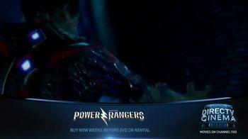 DIRECTV Cinema TV Spot, 'Power Rangers' - Thumbnail 1