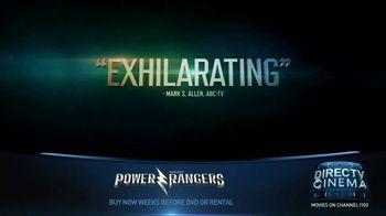 DIRECTV Cinema TV Spot, 'Power Rangers' - Thumbnail 2