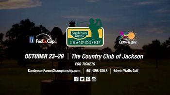 PGA TOUR 2017 Sanderson Farms Championship TV Spot, 'Don't Miss It' - Thumbnail 8
