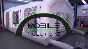 Mobile Environmental Solutions TV Spot, 'Mobile Paint Booth' - Thumbnail 5
