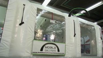 Mobile Environmental Solutions TV Spot, 'Mobile Paint Booth'