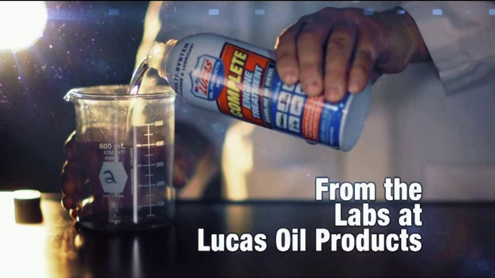 Lucas Oil Complete Engine Treatment TV Commercial, 'Fuel Systems'