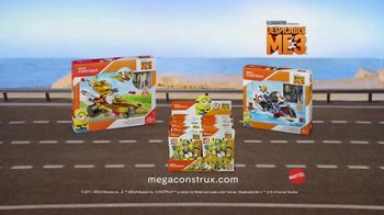 Mega Construx Despicable Me 3 TV Spot, 'From Land to Air' - Thumbnail 9